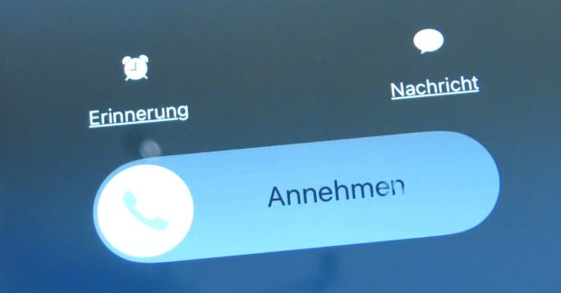 iPhone-Anrufe unterbinden