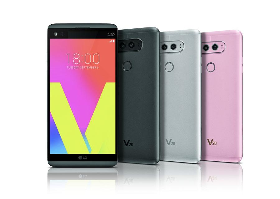 LG V20 offiziell vorgestellt: Dual-Display, Dual-Kamera und 24bit Sound