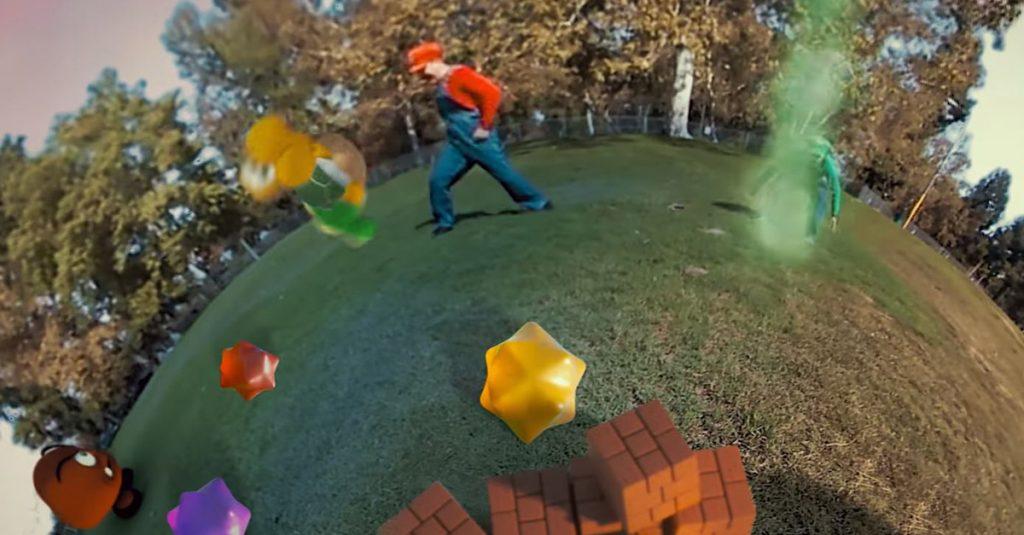 Super Mario Galaxy als Realfilm