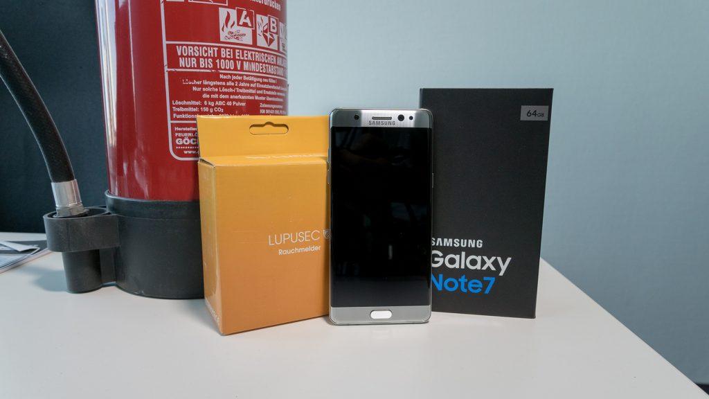 Akku-Fehler: Samsung ruft das Note 7 weltweit zurück [UPDATE 2]