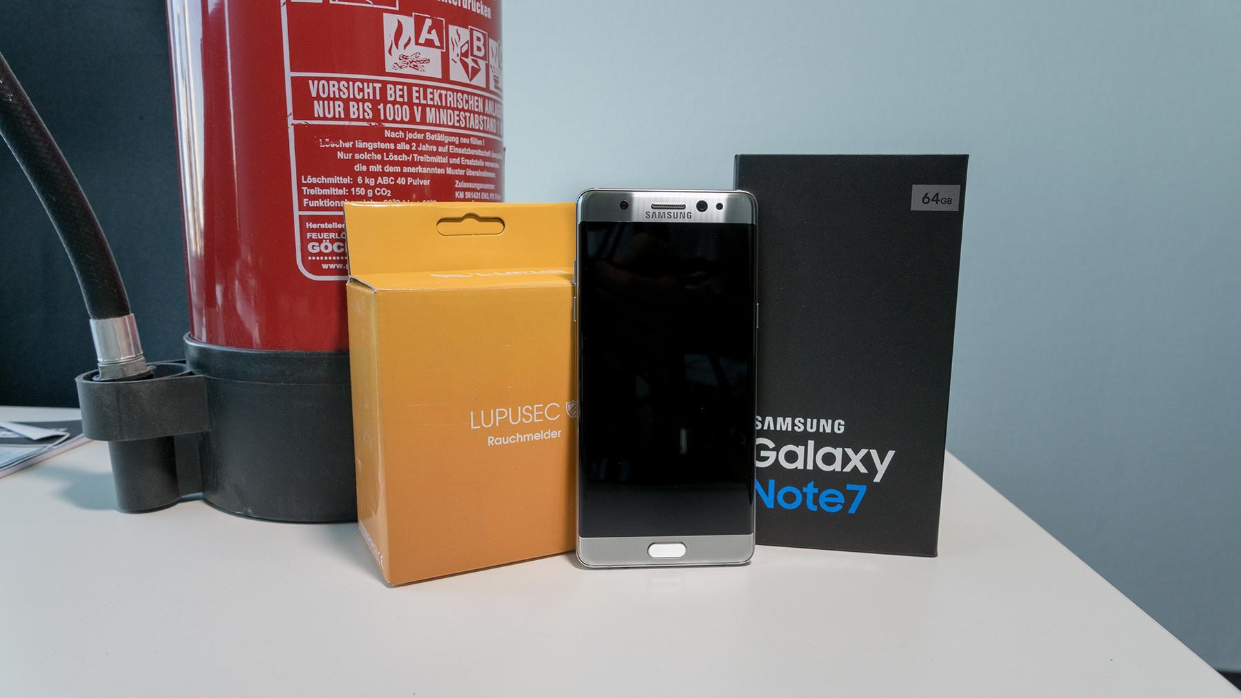 Explodierende Akkus: Samsung ruft Galaxy Note 7 zurück