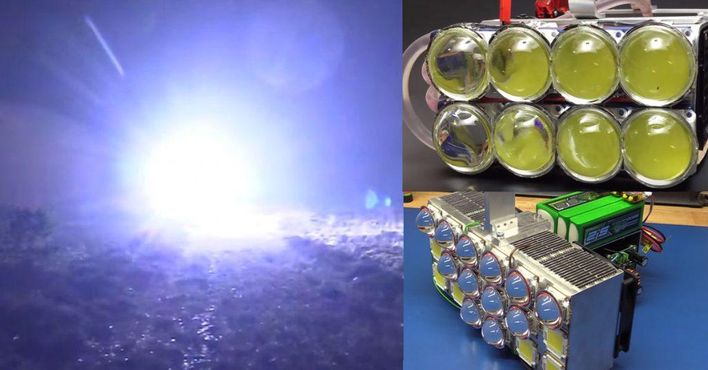 DIY: Taschenlampen mit 72.000 und 162.000 Lumen