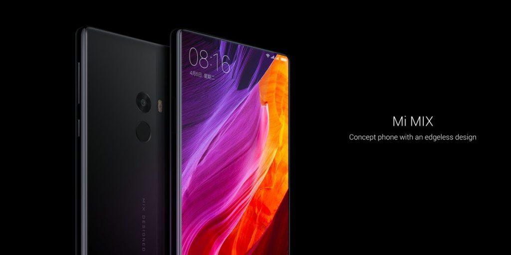 Xiaomi Mi Mix Konzept: Nahezu rahmenloses Smartphone mit High-End Komponenten