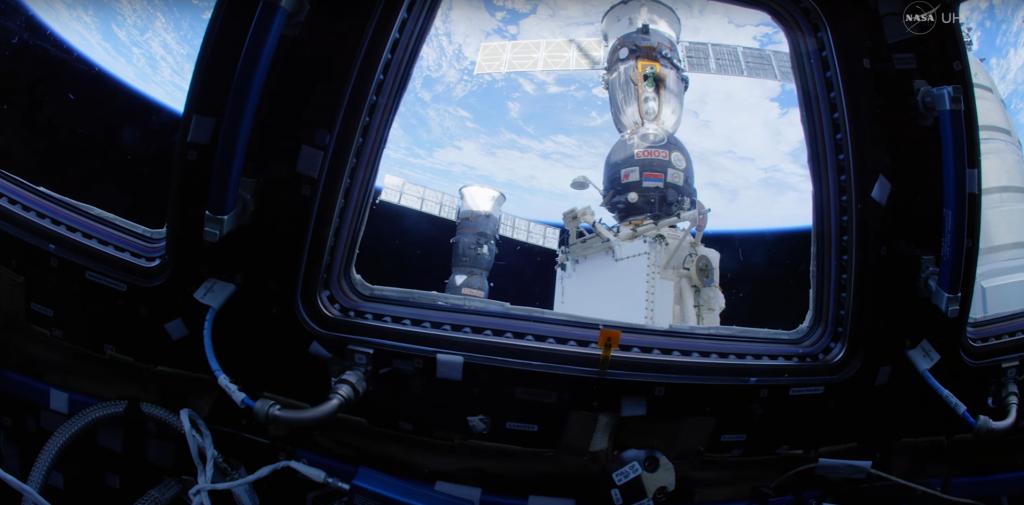 Ein Rundflug durch die ISS in 4K