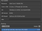 Cinebench Gigabyte X99-UD7