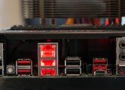 I/O Panel Rückseite