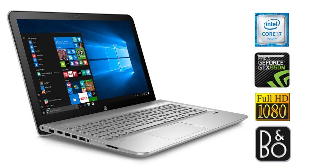 HP Envy 15-ae103ng – Multimedia-Notebook der Premium Klasse mit langer Akku-Laufzeit