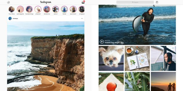 Windows 10 Desktop-App für Instagram