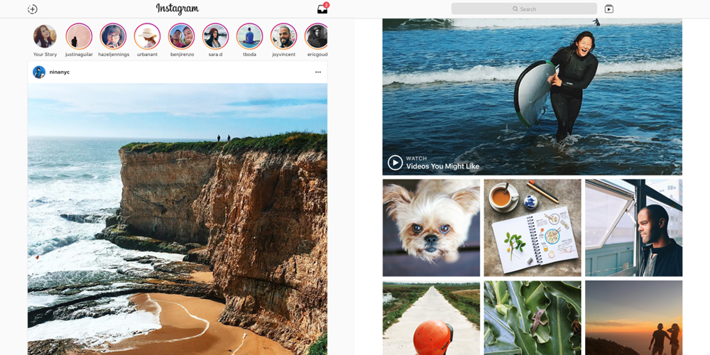 Windows 10 bekommt Instagram Desktop-App