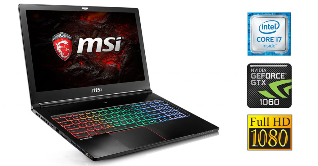 MSI GS63VR-6RF16H22 Stealth Pro Gaming – kompaktes Gaming-Notebook mit starker Hardware