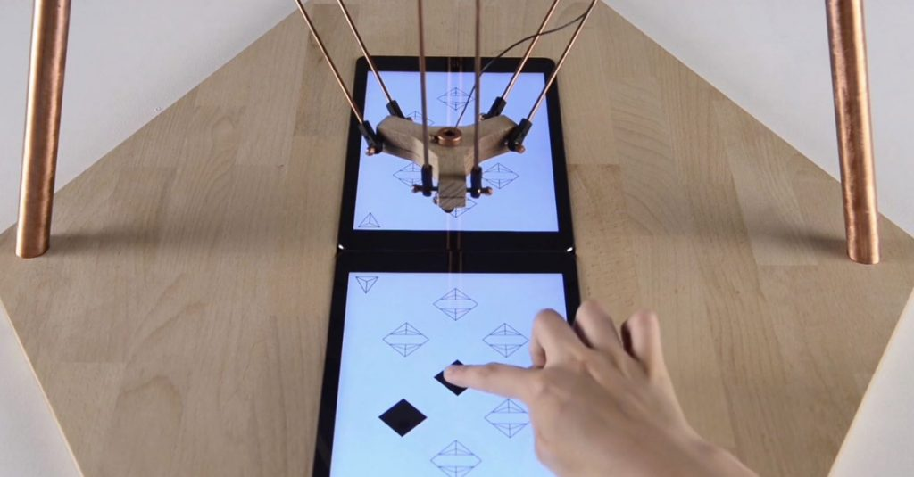 Deltu: Eigensinniger Robotor spielt, knippst Selfies und instagramt sie