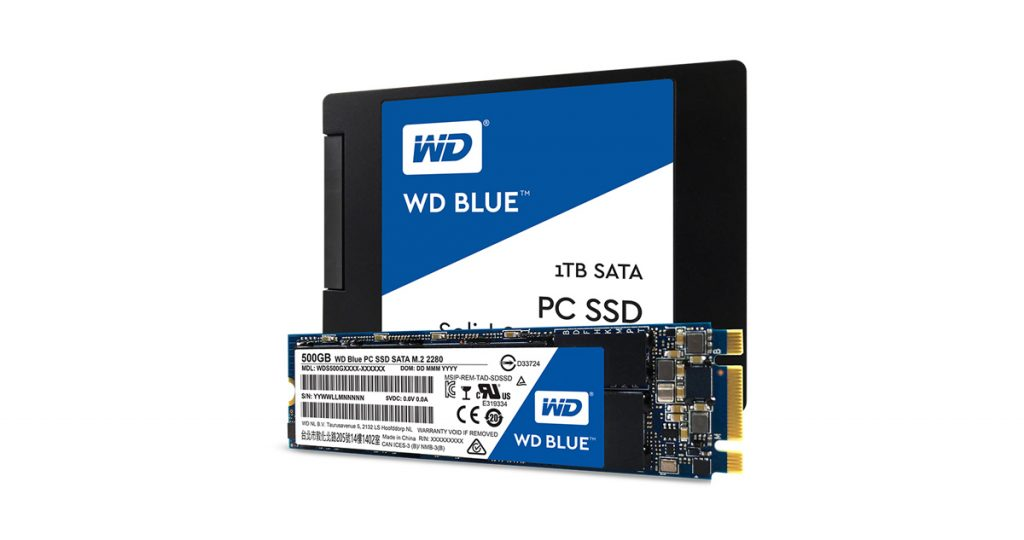 Western Digital stellt neue SSD-Serie mit bis zu 1 TB vor