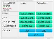AS SSD Mark Samsung 850 Pro