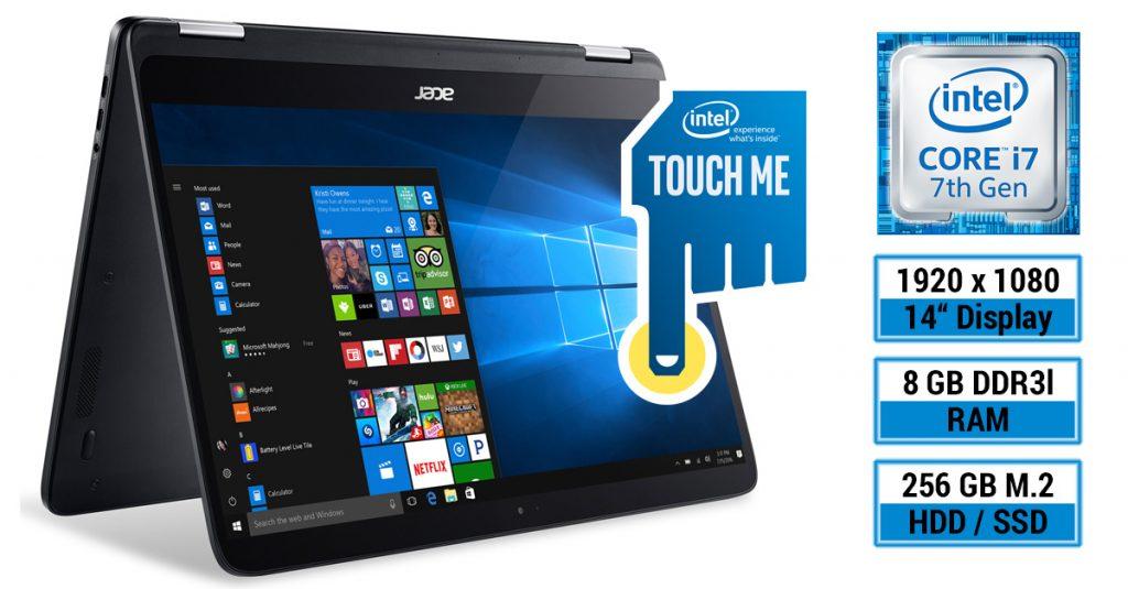 Acer Spin 7 im Test – Dünnes und leichtes Convertible-Notebook mit 14-Zoll-Display