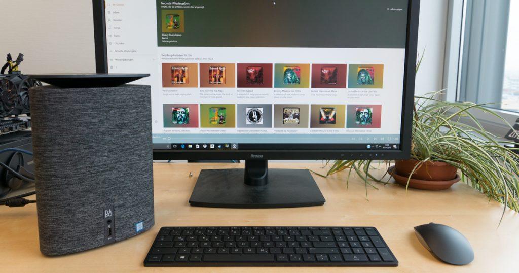 HP Pavilion Wave: Stylischer Wohnzimmer-PC im Test