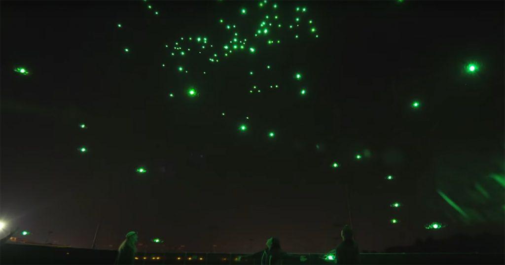 Show in Disney World – Intels neuester Drohnen-Streich