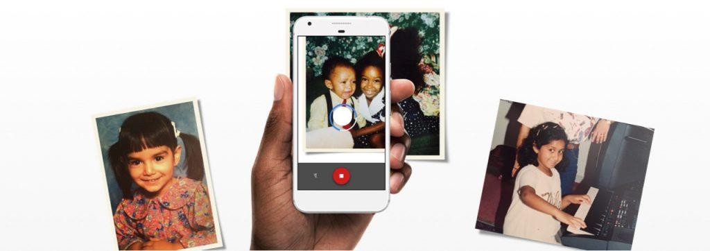 Google Fotoscanner: Alte Fotos mit dem Smartphone reflexionsfrei digitalisieren