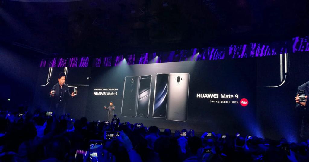 Huawei Mate 9 offiziell: Leica Dual-Kamera und Porsche Design