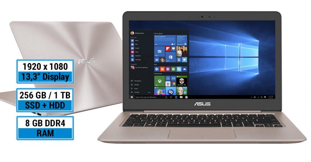 Asus Zenbook UX310UA-FC114T – Schickes 13,3-Zoll-Ultrabook in Roségold
