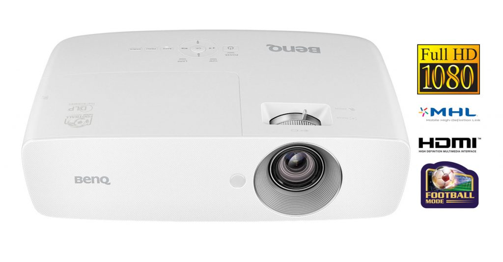 Test: BenQ TH683 – Full-HD-Beamer mit 3.200 ANSI-Lumen und Fußball-Modus