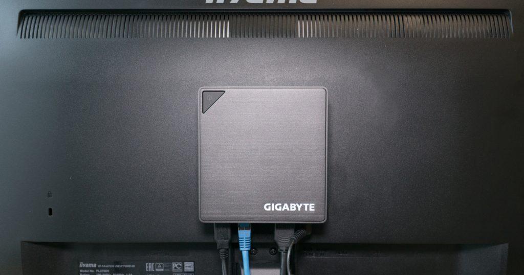 Klein, kühl, vielseitig: der Gigabyte BRIX GB-BKI3A-7100