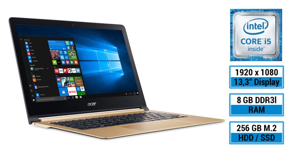 Acer Swift 7 – Super dünnes Ultrabook mit 13,3-Zoll-Display im Test