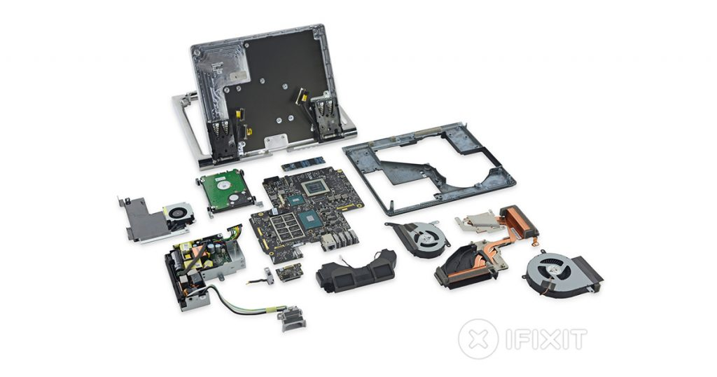 Teardown: Microsoft Surface Studio fachmännisch zerlegt