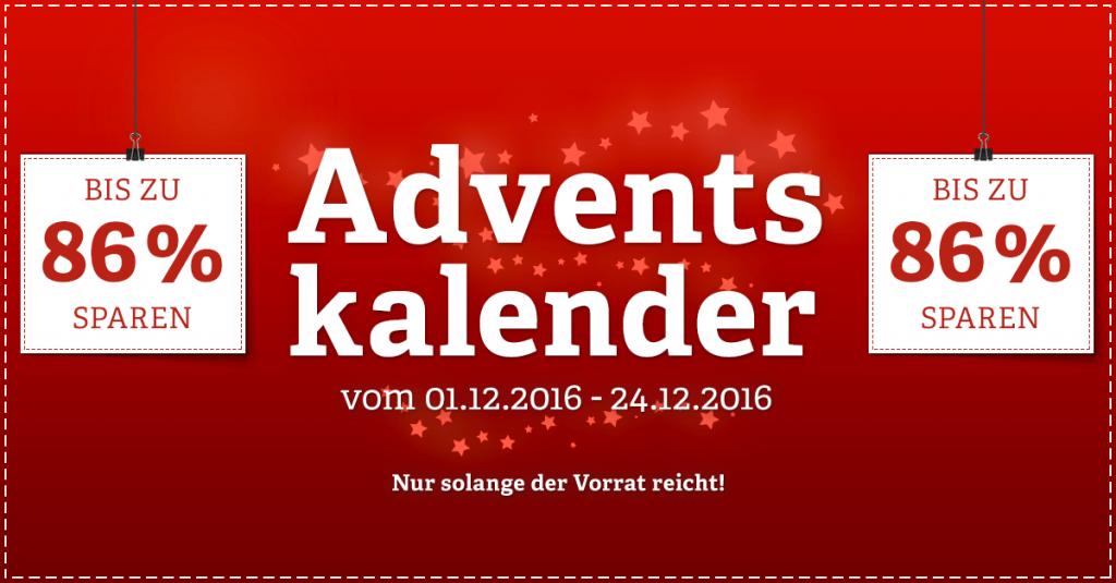 Adventskalender von notebooksbilliger.de mit täglich wechselnden Angeboten