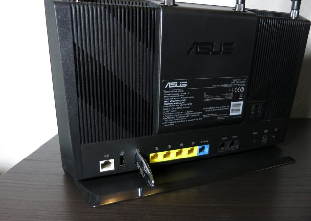 Asus DSL-AC87VG NAS