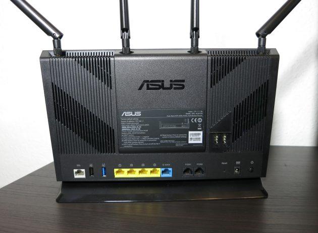 Asus DSL-AC87VG Rueckansicht