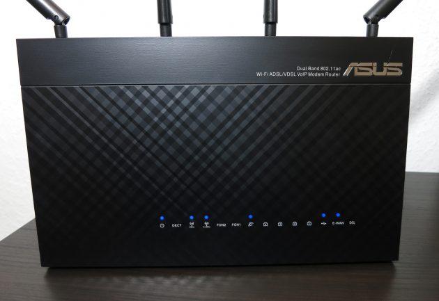 Asus DSL-AC87VG Statusanzeigen