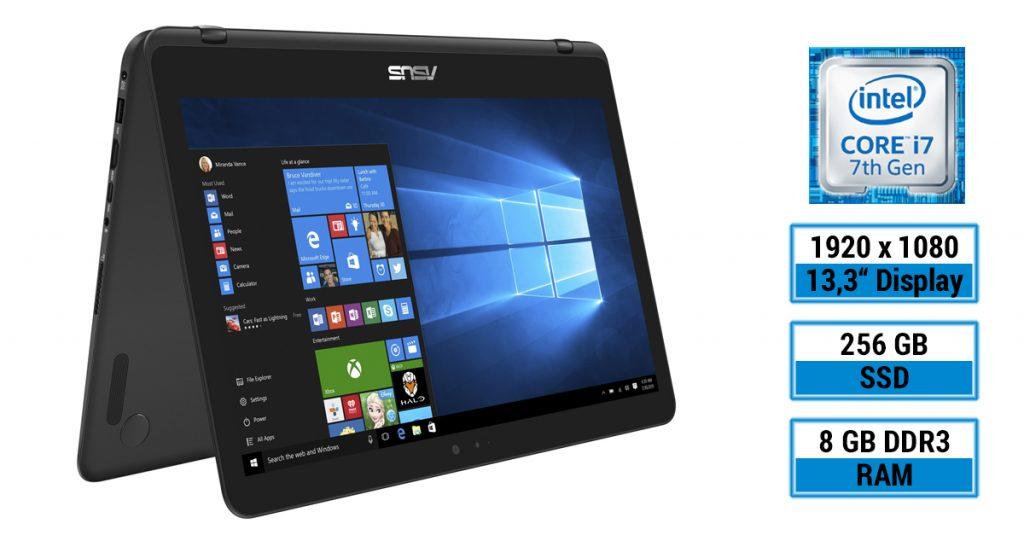 Asus Zenbook Flip UX360UAK-BB284T – leichtes Convertible-Notebook mit 13,3 Zoll Display im Test