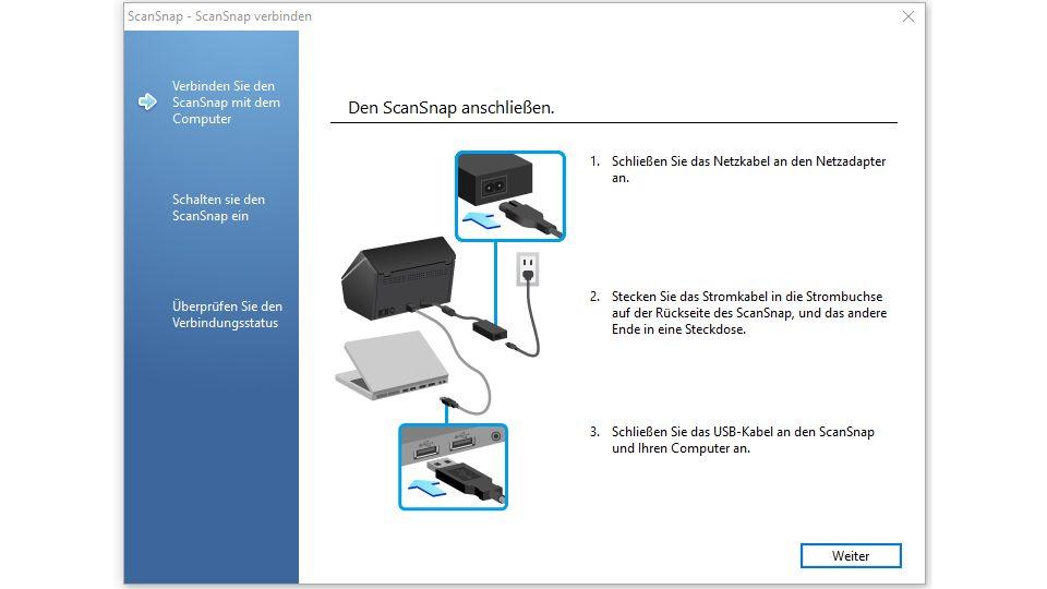 Fujitsu ScanSnap iX500 Installations-SW_1