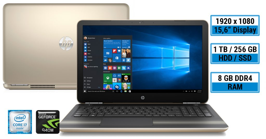 HP Pavilion 15-au013ng – günstiges Multimedia-Notebook im Test
