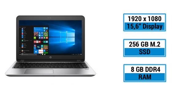 HP ProBook 450 G4 Y8B56EA