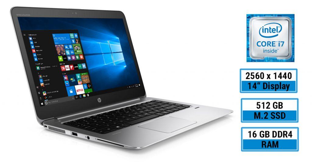 HP EliteBook 1040 G3 – edles Business-Ultrabook mit WQHD-Auflösung und LTE im Test