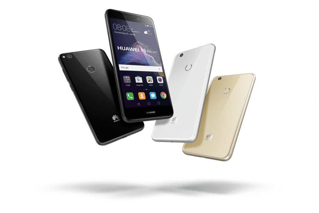 Huawei P8 Lite 2017 vorgestellt