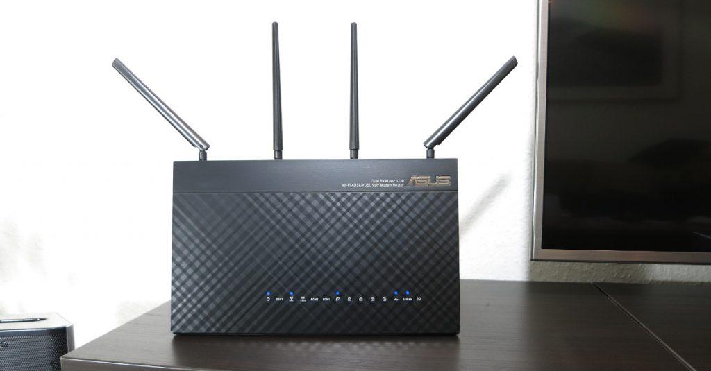 Test Asus DSL-AC87VG Router und RP-AC66 Repeater: Mit Vieren funkt man besser