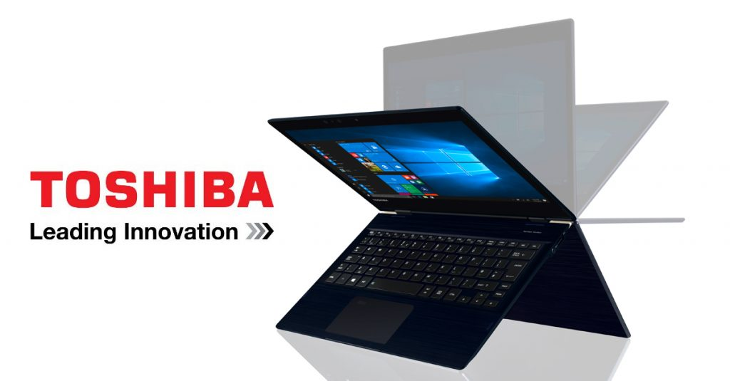 News: Toshiba stellt flachstes 2-in-1 Business-Notebook mit Intel Core Prozessor vor