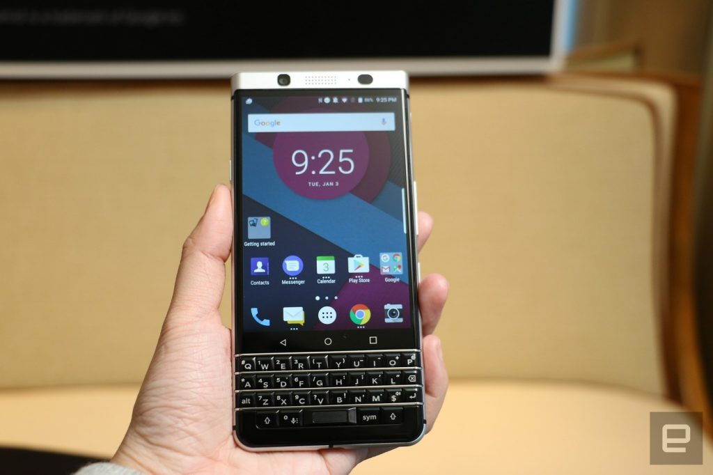 CES 2017: TCL zeigt BlackBerry Mercury Prototypen, kündigt neues BlackBerry an