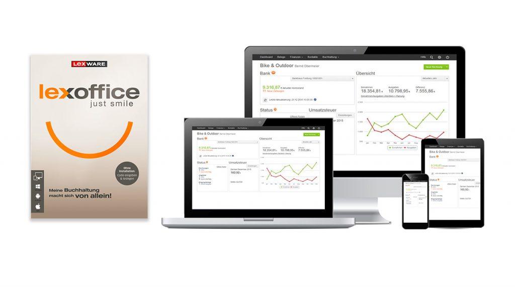 Lexware lexoffice macht die Buchhaltung einfach und intuitiv