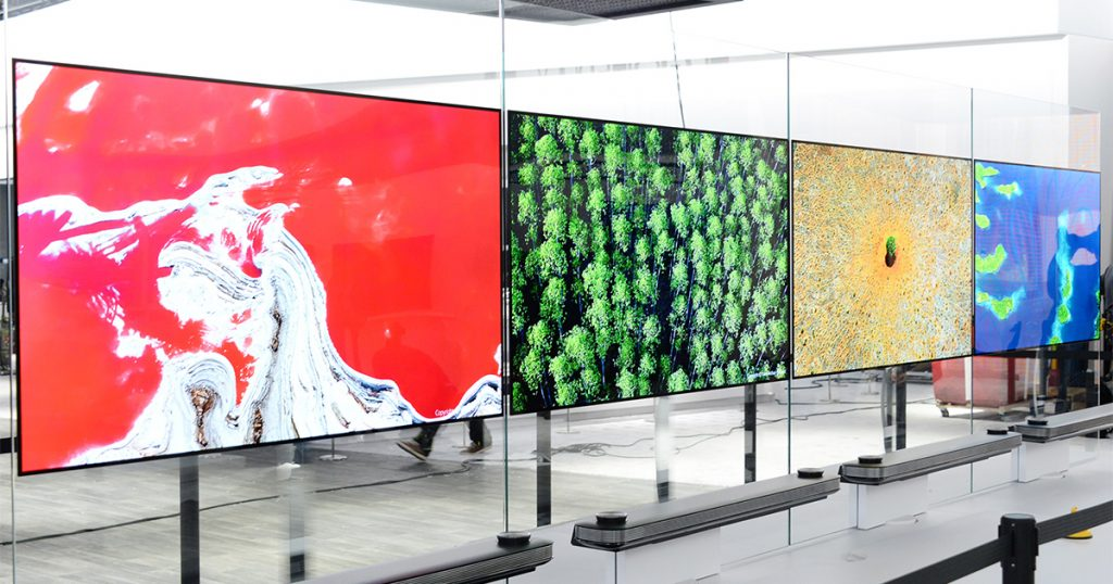 LG präsentiert auf der CES 2017 die neuen Signature OLED TV W-Geräte