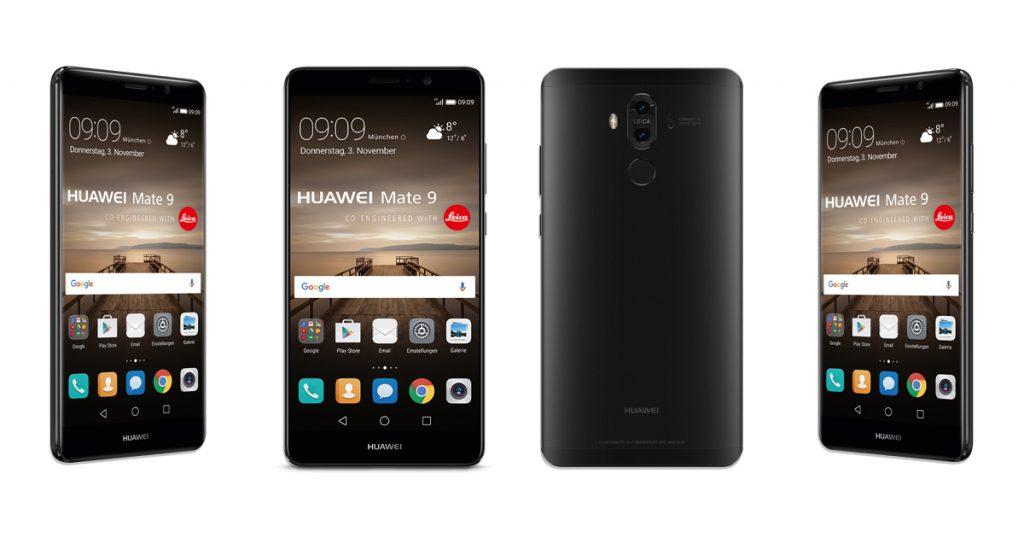 Huawei Mate 9 kommt auch in Schwarz nach Deutschland