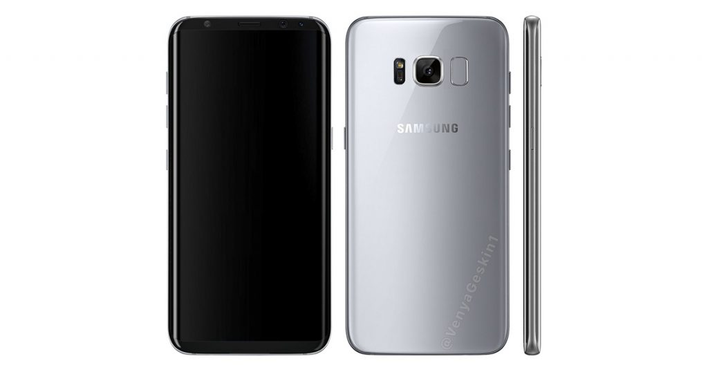 Galaxy S8: On-Screen-Tasten, Docking-Station und diverse Fotos