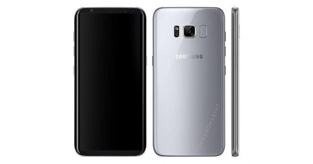 Inoffizielles Renderbild des Samsung Galaxy S8