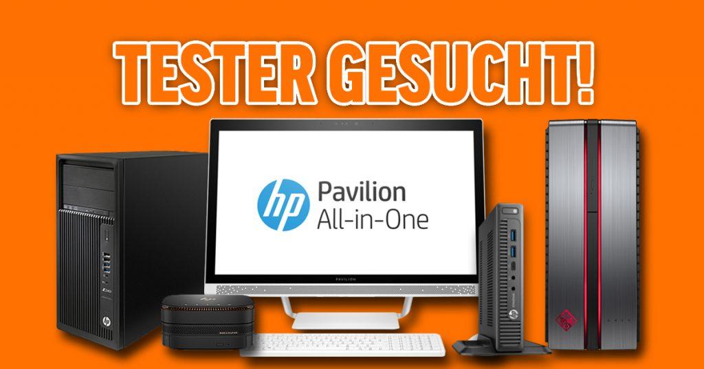 Tester gesucht für HP Desktop PCs