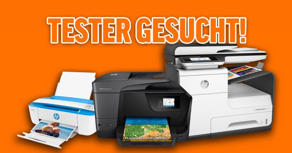 Tester gesucht für HP Drucker