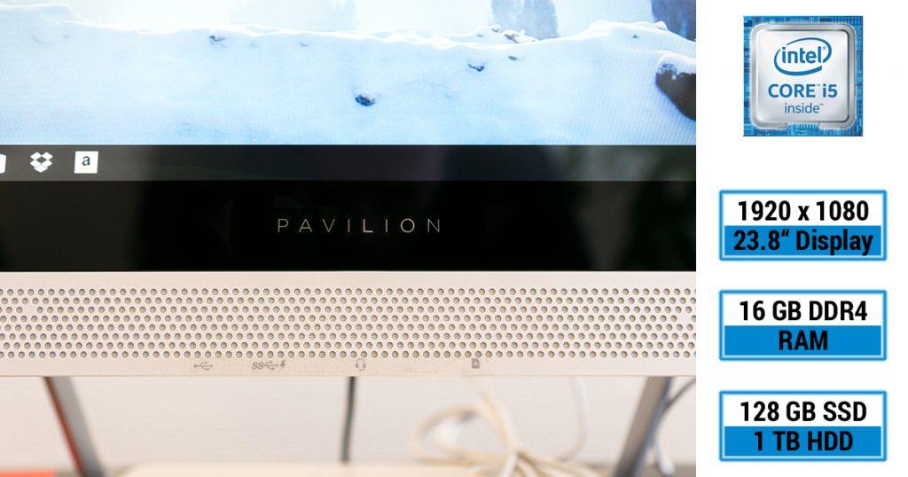 HP Pavilion 24 Touch – Ein All-in-One-PC für (fast) alle Aufgaben