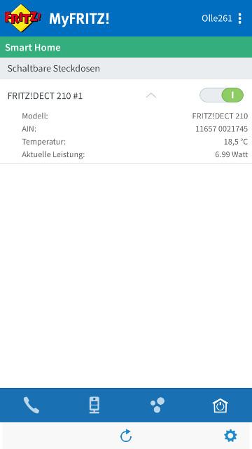 AVM FritzDECT 210 App