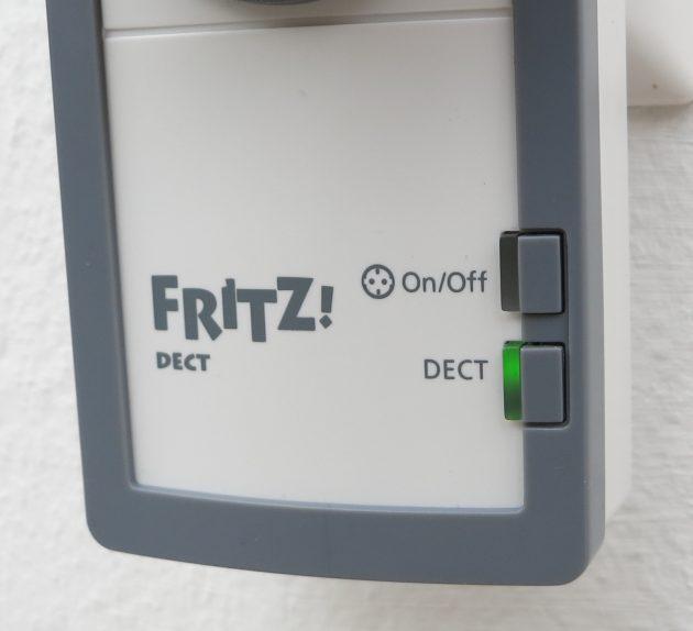 AVM FritzDECT 210 Detail LEDs